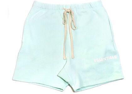 ESSENTIALS Graphic Sweat Shorts Mintの写真