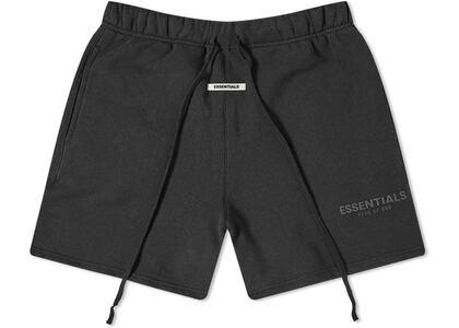 ESSENTIALS Fleece Shorts Dark Slate/Stretch Limo/Blackの写真