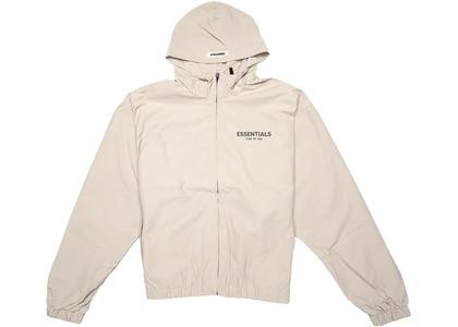 ESSENTIALS Zip Anorak Windbreaker Jacket Tanの写真