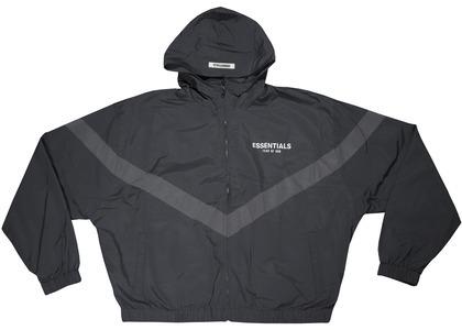 ESSENTIALS Zip Anorak Windbreaker Jacket Blackの写真