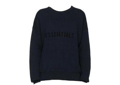 ESSENTIALS x SSENSE Knit Sweater Dark Navyの写真