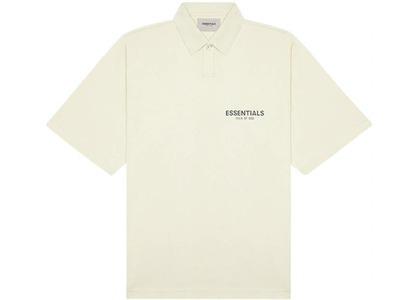 ESSENTIALS Short Sleeve Boxy Polo Buttercreamの写真