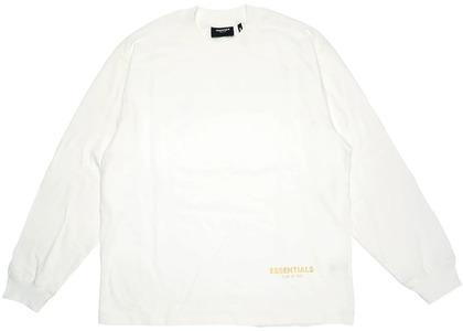 ESSENTIALS Long Beach 3M Long Sleeve Boxy T-Shirt Whiteの写真