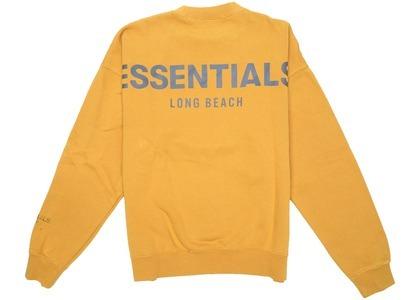 ESSENTIALS Long Beach 3M Crewneck Goldの写真