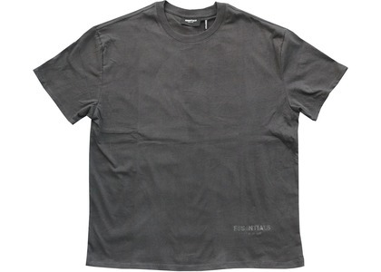 ESSENTIALS Logo Boxy T-Shirt Black/Blackの写真