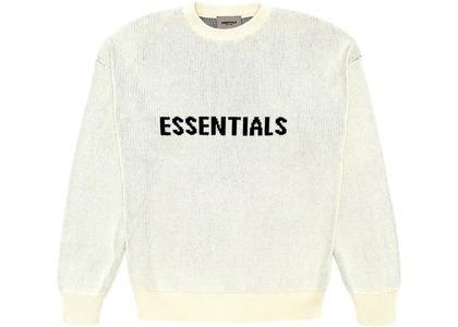 ESSENTIALS Knit Sweater Buttercreamの写真