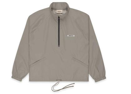 ESSENTIALS Half-Zip Track Jacket Cementの写真