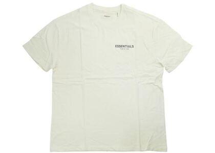 ESSENTIALS Boxy Logo T-shirt Creamの写真