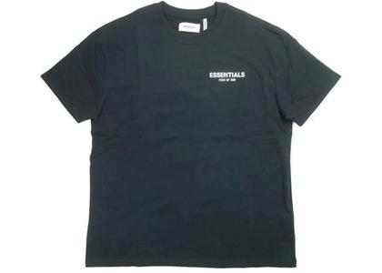 ESSENTIALS Boxy Logo T-shirt Blackの写真
