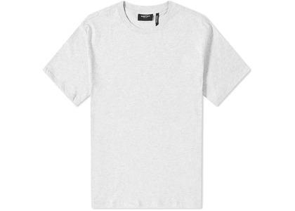 ESSENTIALS 3M Logo Boxy T-Shirt Light Heather Grey/Blackの写真
