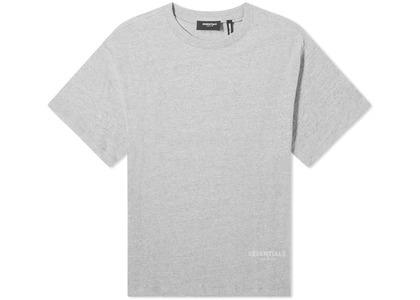 ESSENTIALS 3M Logo Boxy T-Shirt Dark Heather Grey/Blackの写真