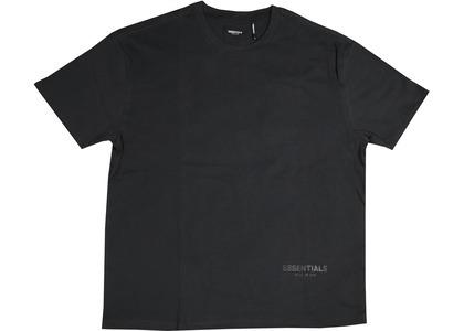 ESSENTIALS 3M Logo Boxy T-shirt Black/Whiteの写真