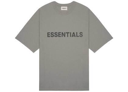 ESSENTIALS 3D Silicon Applique Boxy T-shirt Cementの写真