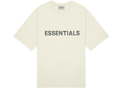 ESSENTIALS 3D Silicon Applique Boxy T-Shirt Buttercreamの写真