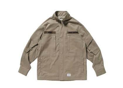Wtaps D90 Jacket Nyco Tussah Beigeの写真