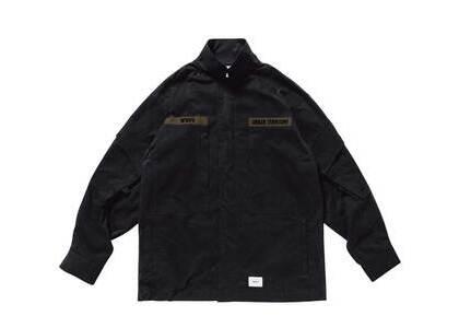 Wtaps D90 Jacket Nyco Tussah Blackの写真