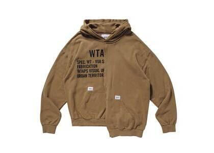 Wtaps Rags Hooded Cotton Beigeの写真