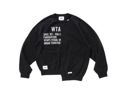 Wtaps Rags Crew Neck Cotton Blackの写真