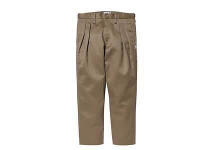 Wtaps Tuck 02 Trousers Cotton Twill Beigeの写真