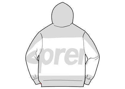 Supreme Big Logo Hooded Sweatshirt Heather Greyの写真
