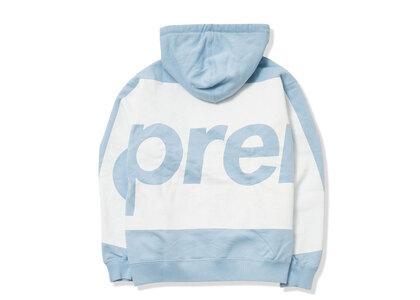 Supreme Big Logo Hooded Sweatshirt Light Blue (SS21)の写真