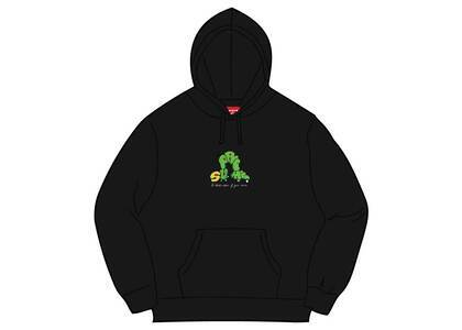 Supreme Don't Care Hooded Sweatshirt Blackの写真