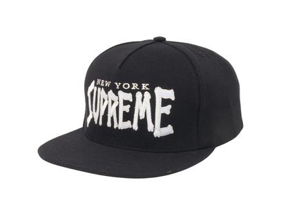 Supreme Bones Logo 5-Panel Black (SS21)の写真