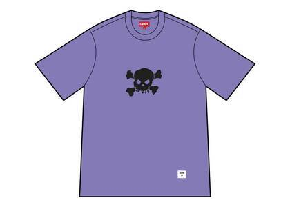 Supreme Skull S/S Top Pale Purpleの写真