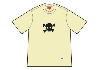 Supreme Skull S/S Top Pale Yellowの写真