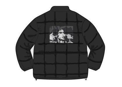 Supreme Iggy Pop Puffy Jacket Blackの写真