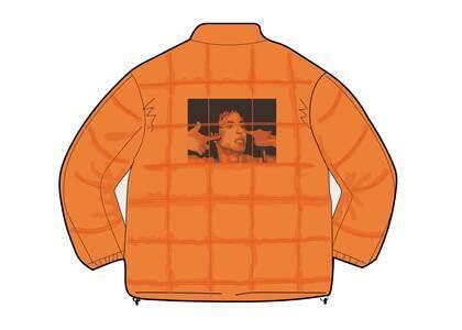 Supreme Iggy Pop Puffy Jacket Orangeの写真