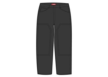 Supreme Double Knee Corduroy Painter Pant Black