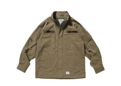 Wtaps D90 Jacket Nyco Tussah Oliveの写真