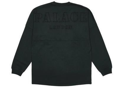 Palace Shop Drop Shoulder Longsleeve Black - London (SS21)の写真