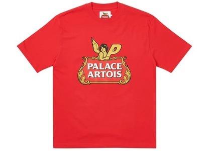 Palace Stella Artois Cartouche T-Shirt Red (SS21)の写真