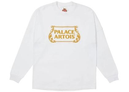 Palace Stella Artois Drop Shoulder Longsleeve White (SS21)の写真
