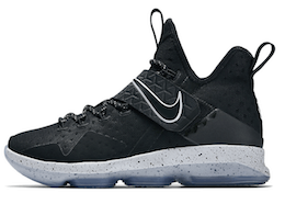 Lebron 14 Black Iceの写真