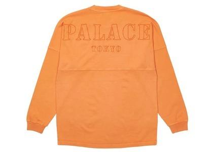 Palace Shop Drop Shoulder Longsleeve Orange - Tokyo (SS21)の写真