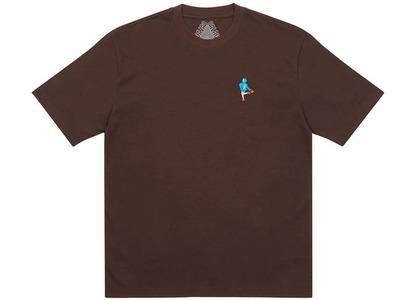 Palace Handbag T-Shirt Brown (SS21)の写真