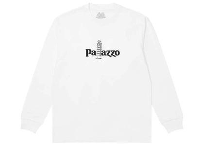 Palace Palazzo Longsleeve White (SS21)の写真