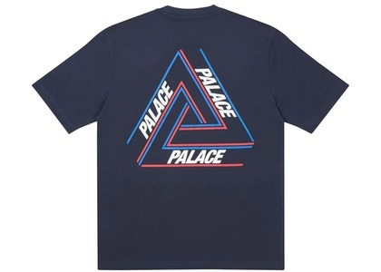 Palace Basically A Tri-Ferg T-Shirt Navy (SS21)の写真