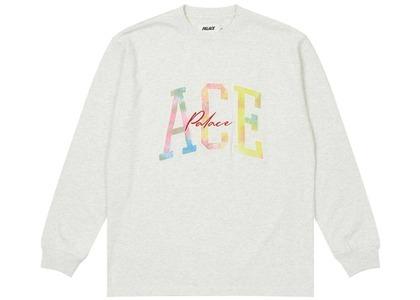 Palace Ace Longsleeve Grey Marl (SS21)の写真