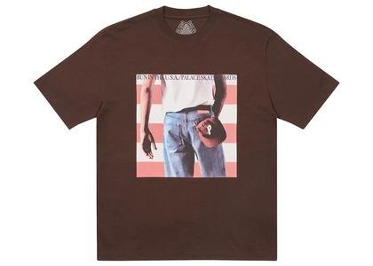 Palace Born To Bun T-Shirt Brown (SS21)の写真