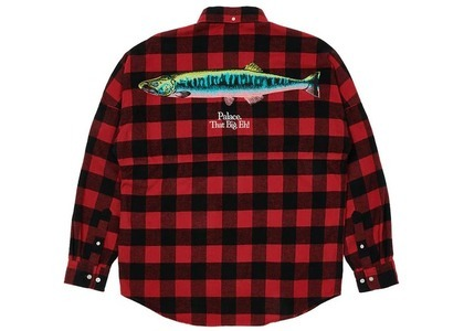 Palace That Big Eh Shell Shirt Red Check (SS21)の写真