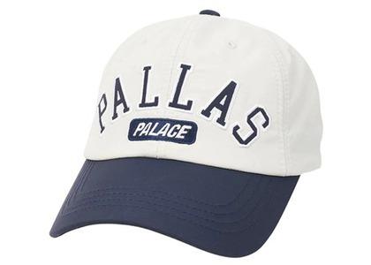 Palace Pallas Shell 6-Panel White/Navy (SS21)の写真