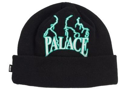 Palace Lightning Speed Beanie Black (SS21)の写真