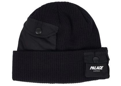 Palace C-Pocket Beanie Black (SS21)の写真