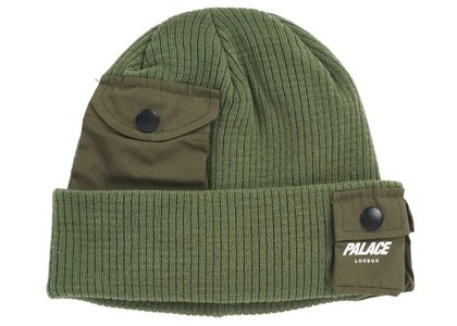 Palace C-Pocket Beanie Green (SS21)の写真