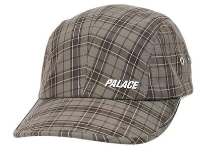 Palace Zip Back Shell T-Leaf Cap Check (SS21)の写真