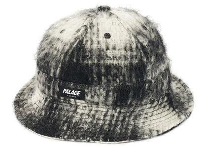 Palace Bless Up Wool Bucket Hat Black/White (SS21)の写真